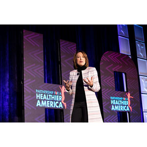 Nancy E. Roman, President and CEO of Partnership for a Healthier America, at PHA's 2019 Summit.