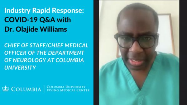 Q&A with Dr. Olajide Williams