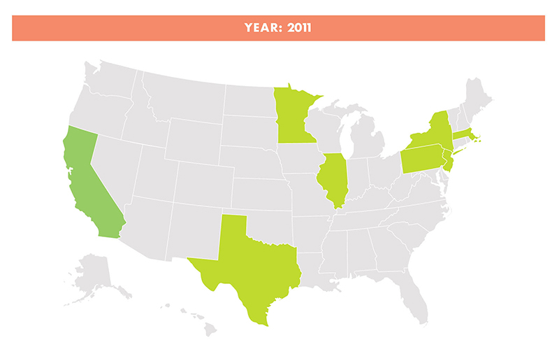 PHA's 2011 map