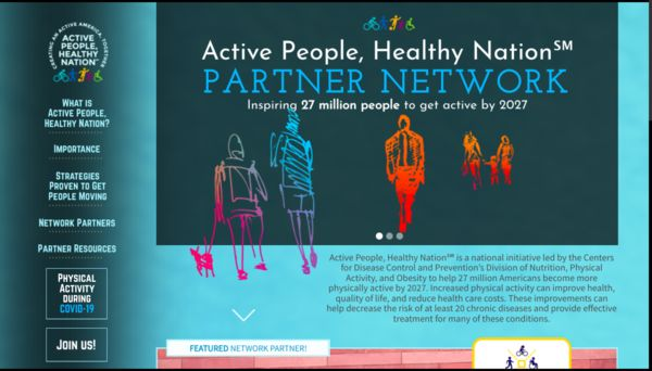 Active People Healthy Nation new website