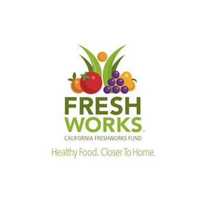 Logo for Partnership for a Healthier America (PHA) partner The California Fresh Works Fund.