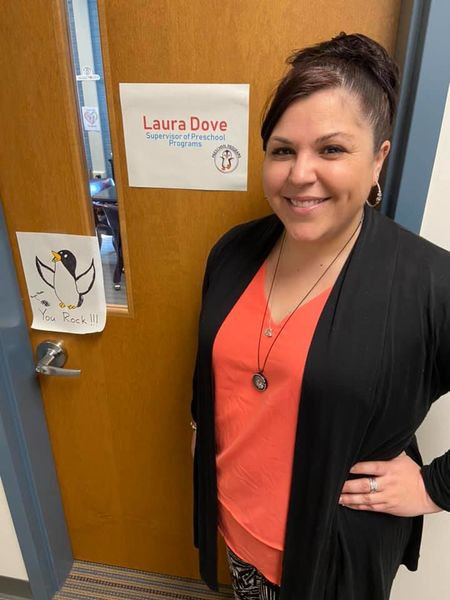 A headshot of Laura Dove, Fredericksburg City Public Schools
