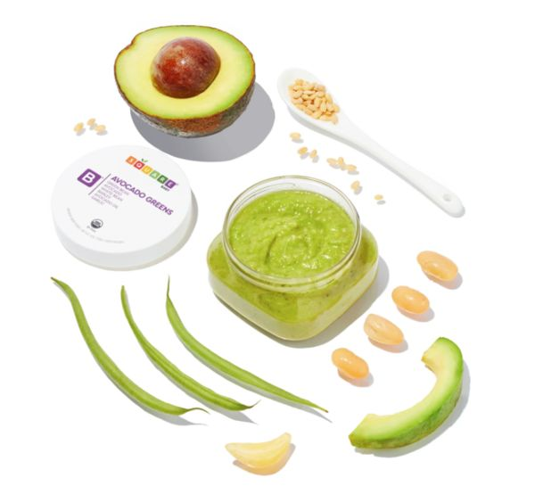 Square Baby meal and avocado
