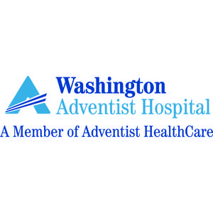 Logo for Partnership for a Healthier America (PHA) partner Washington Adventist Hospital.