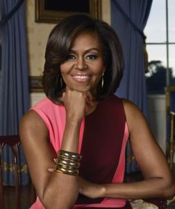 A portrait of PHA's Honorary Chair Former First Lady Michelle Obama.