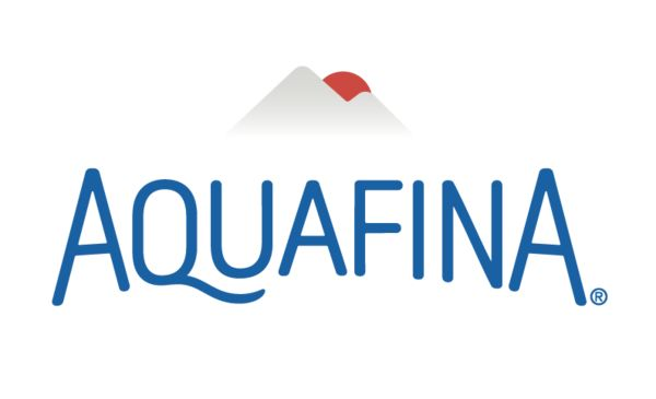 Logo for Aquafina, a sponsor for the 2017 Building a Healthier Future Summit.