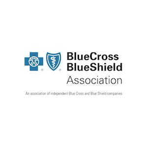 Logo for Partnership for a Healthier America (PHA) partner Blue Cross and Blue Shield Association.