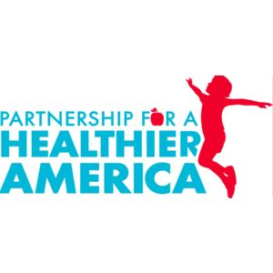 Partnership for a Healthier America's logo.