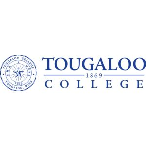 Logo for Tougaloo College, a partner participating in Partnership for a Healthier America's Healthier Campus Initiative.