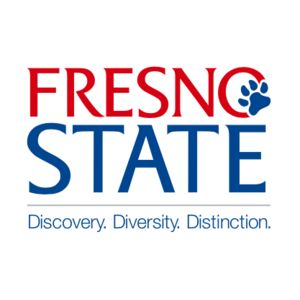 Logo for California State University, Fresno, a Partnership for a Healthier America partner participating in the Healthier Campus Initiative.