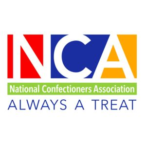 Logo for the National Confectioners Association (NCA), a Partnership for a Healthier America partner.
