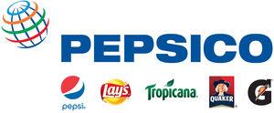 Logo for PepsiCo, a Partnership for a Healthier America partner.