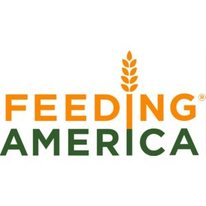 Logo for Feeding America, a Partnership for a Healthier America partner.