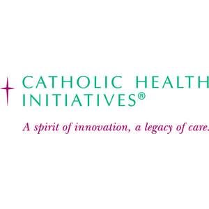 Logo for Partnership for a Healthier America (PHA) partner Catholic Health Initiatives.