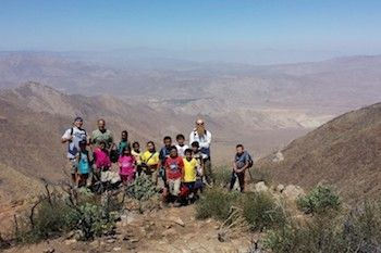 Image of children participating in an OIA, Outdoor Industry Foundation program.