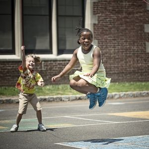 Image of children playing at recess.