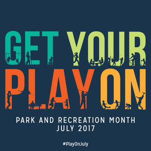 Image for National Recreation and Park Association's (NRPA) Park and Recreation Month in July 2017.