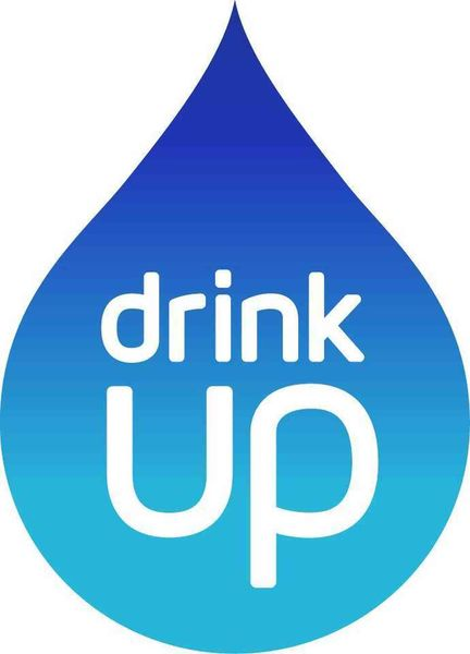 Water drop logo for Partnership for a Healthier America's Drink Up initiative.