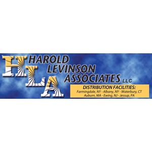 Logo for Harold Levinson Associates, a Partnership for a Healthier America partner.