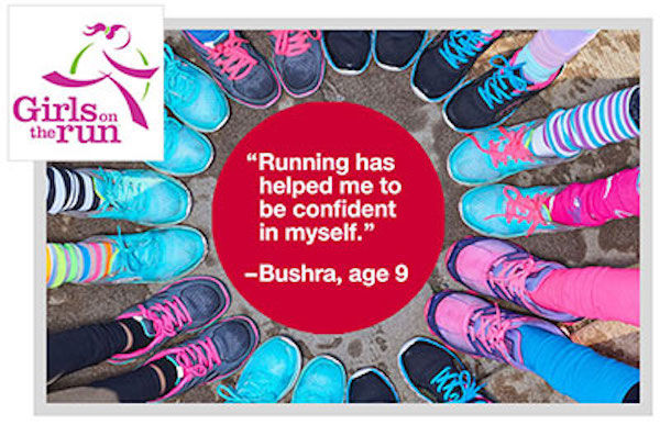 Image from Girls on the Run International.