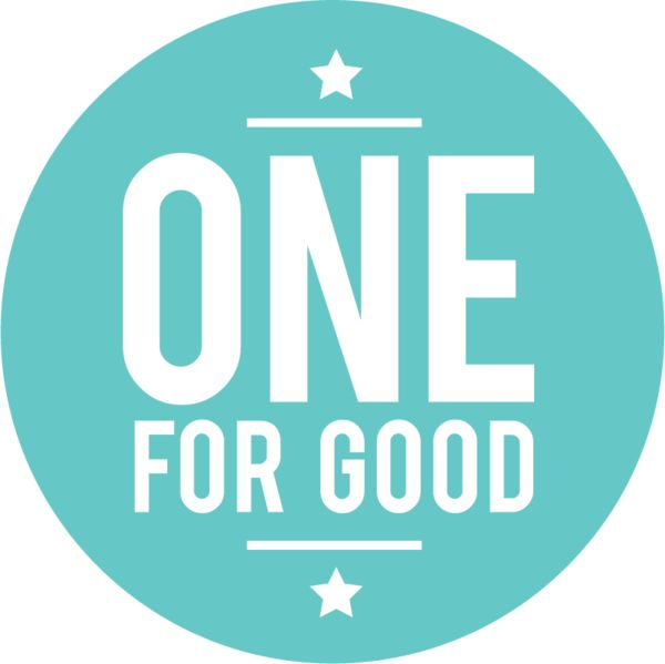 Logo for One for Good Initiative.