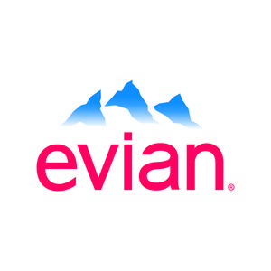 Logo for Partnership for a Healthier America (PHA) partner Evian.