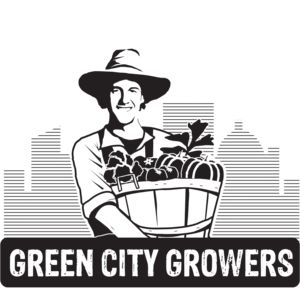 Logo for Partnership for a Healthier America (PHA) partner Green City Growers.