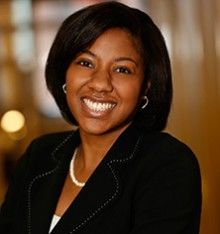 Headshot of Andrea Muscadin, VP of Partnerships at Partnership for a Healthier America.