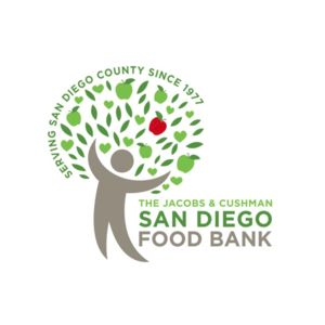 Logo for the San Diego Food Bank, a Partnership for a Healthier America partner participating in the Food Assistance Partnership Program.
