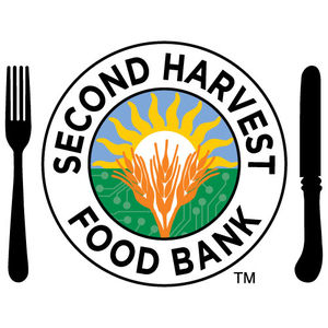 Logo for the Second Harvest Food Bank of San Mateo/Santa Clara, a Partnership for a Healthier America partner participating in the Food Assistance Partnership Program.