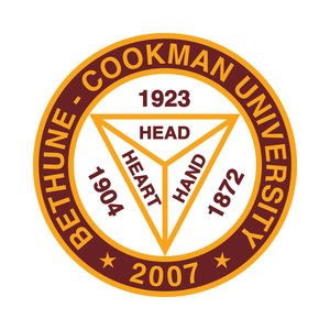 Logo for Bethune-Cookman University, a participant in Partnership for a Healthier America's Healthier Campus Initiative.