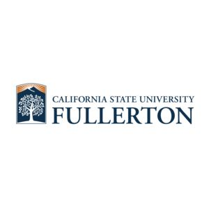 Logo for California State University Fullerton, a participant in Partnership for a Healthier America's Healthier Campus Initiative.
