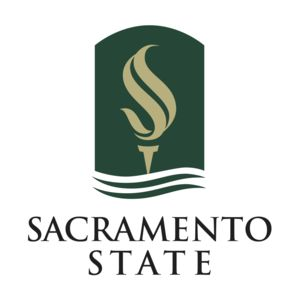 Logo for California State University Sacramento, a participant in Partnership for a Healthier America's Healthier Campus Initiative.
