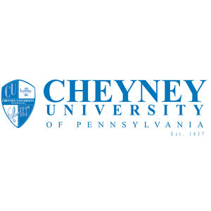 Logo for Cheyney University, a participant in Partnership for a Healthier America's Healthier Campus Initiative.