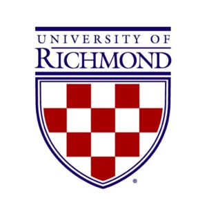 Logo for the University of Richmond, a participant in Partnership for a  Healthier America's Healthier Campus Initiative.