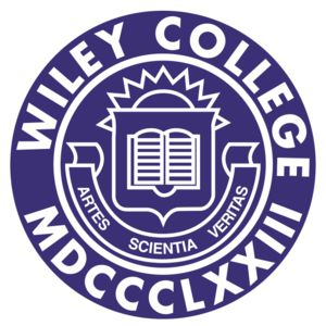 Logo for Wiley College, a participant in Partnership for a Healthier America's Healthier Campus Initiative.
