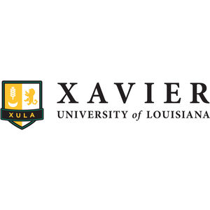 Logo for the Xavier University of Louisiana, a participant in Partnership for a Healthier America's Healthier Campus Initiative.
